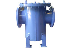 SS 316 PFA Lined Bucket Type Strainers