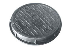 SS 316 Manhole Lined Cover & Protection Ring