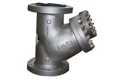 SS 316 PFA Lined Y Type Strainers