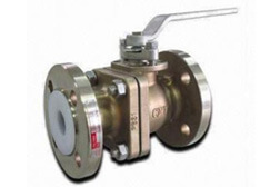 SS 304 PTFE Lined Ball Valve