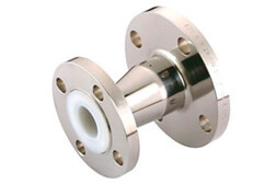 SS 304 PTFE Lined Concentric Reducer