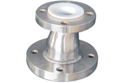SS 304 PTFE Lined Eccentric Reducer